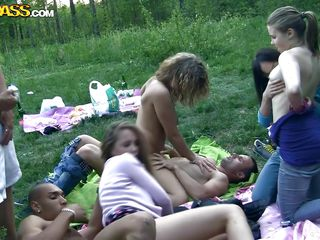 a student sex party ends up with jizz on the mounds