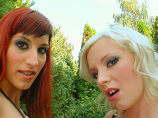 2 sexy angels their their love tunnels pounded.