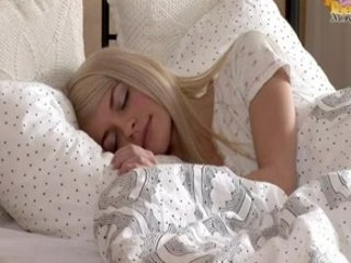 Petite blonde legal age teenager Elena...