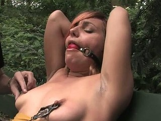 Pretty hawt hotty knox suspended, dog play, servitude and anal sex.