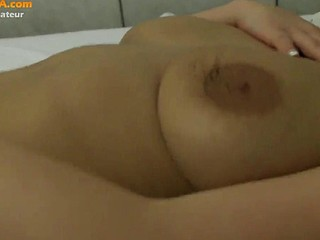 Sexy amateur blonde homemade solo