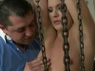 Sexy girl getting punished and fucked
