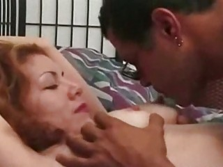Hot bedroom fuck with a redhead chick