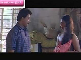 Classic Indian mallu movie scene Railway part 2 nice boobies
