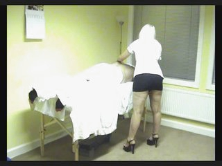 Miss. Louise Jackson massage therapist fucked on hidden cam