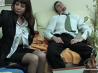 Alice&Mike kinky hose movie
