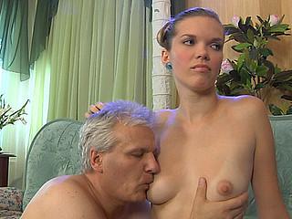 Cecilia&Caspar beauty and oldman movie