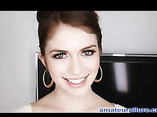 Miley is eighteen years old, very cute and this honey has returned for her first cum facial ever! This is the second time Miley has visted AmateurAllure.com, and I am going receive my discharged at her this time. This Chick has an amazing, constricted bod