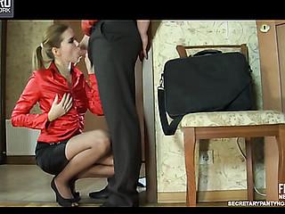 Cecilia&Adam uniform hose action
