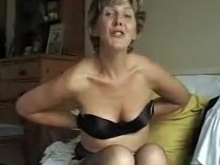 Someone's mom shows us her tits