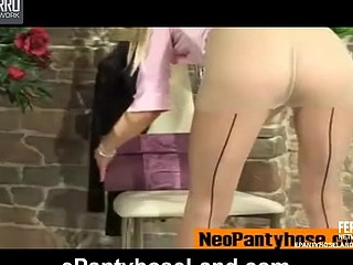 Gertie C featured in pantyhose episode