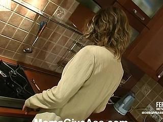 Christie&Richard anal mama on clip