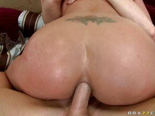 horny blonde sadie takes a cock deep in her anus