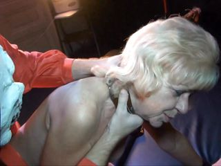 blonde ganny gets punished hard
