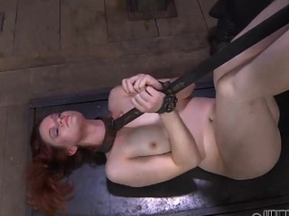 This perverted man can't live without BDSM games with chains and ropes