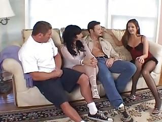 Cute Dark brown Has Sexy Threesome...