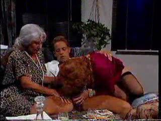 Rocco trying three hot grannie