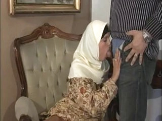 ARAB Muslim HIJAB Turbanli Admirable Tits DOGGY FUCK Blowjobs -NV