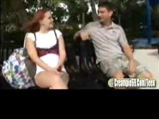 Redhead Teen Slut Acquires Pregnant
