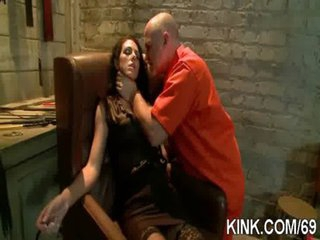 Hot pretty sweetheart dominated, bound and fucked