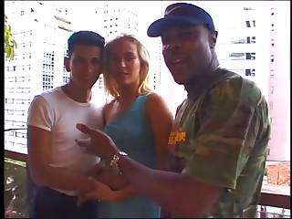 Interracial Cuckold - Afroamerican and Brazilian Couple