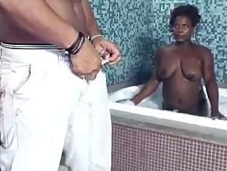 Hardcore black threesome bi sexual fuck