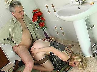 Inessa&Caspar gal and oldman movie