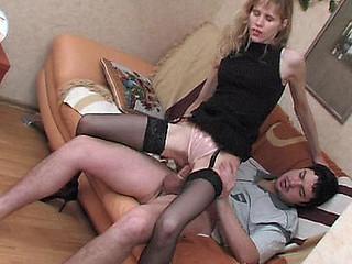 Dolly&Adam sexual nylon act