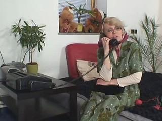 Granny gets a hard dick