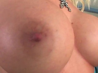 Cute Angel Vain rubbing her giant boobs on Vin Deacons face, she makes him to suck her asshole and fuck it!