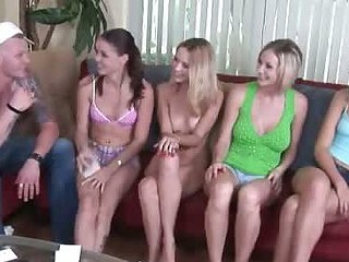 Real amateurs playing adult truth or dare