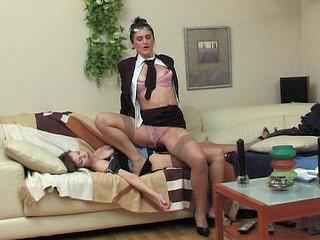 Martha&Gertie vivid lesbo aged action