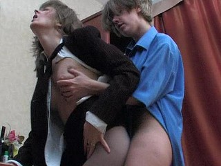 Maria&Nora great pantyhose movie