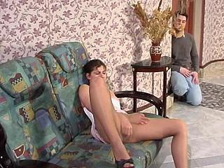 Sophia&Adam kinky hose movie